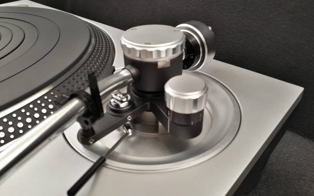 New – Modular CNC-Machined Armboards for Technics SL-1200 Turntables