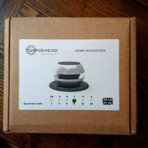 Townshend Audio Seismic Pods, Set of 4 Ex-Dem