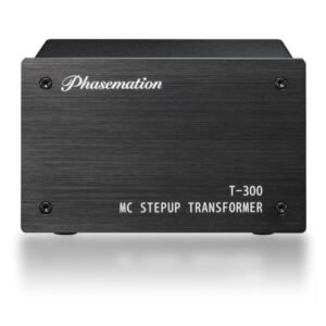 Phasemation T-300 Stereo Moving Coil Step-up Transformer, front panel