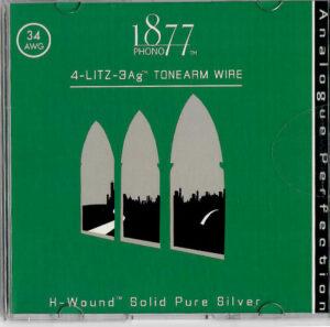 Zavfino 1877Phono 4-Litz-3Ag Pure Silver Litz Tonearm Wire, 0.6m